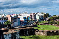 Old San Juan as seen from Castillo San Cristóbal